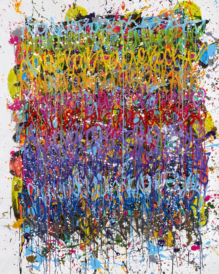 Deep-Down I Have Known Its True - JonOne painting - 2015