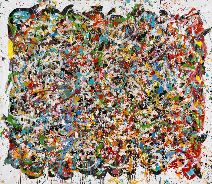 La République-Liberty City FL - JonOne painting - 2015