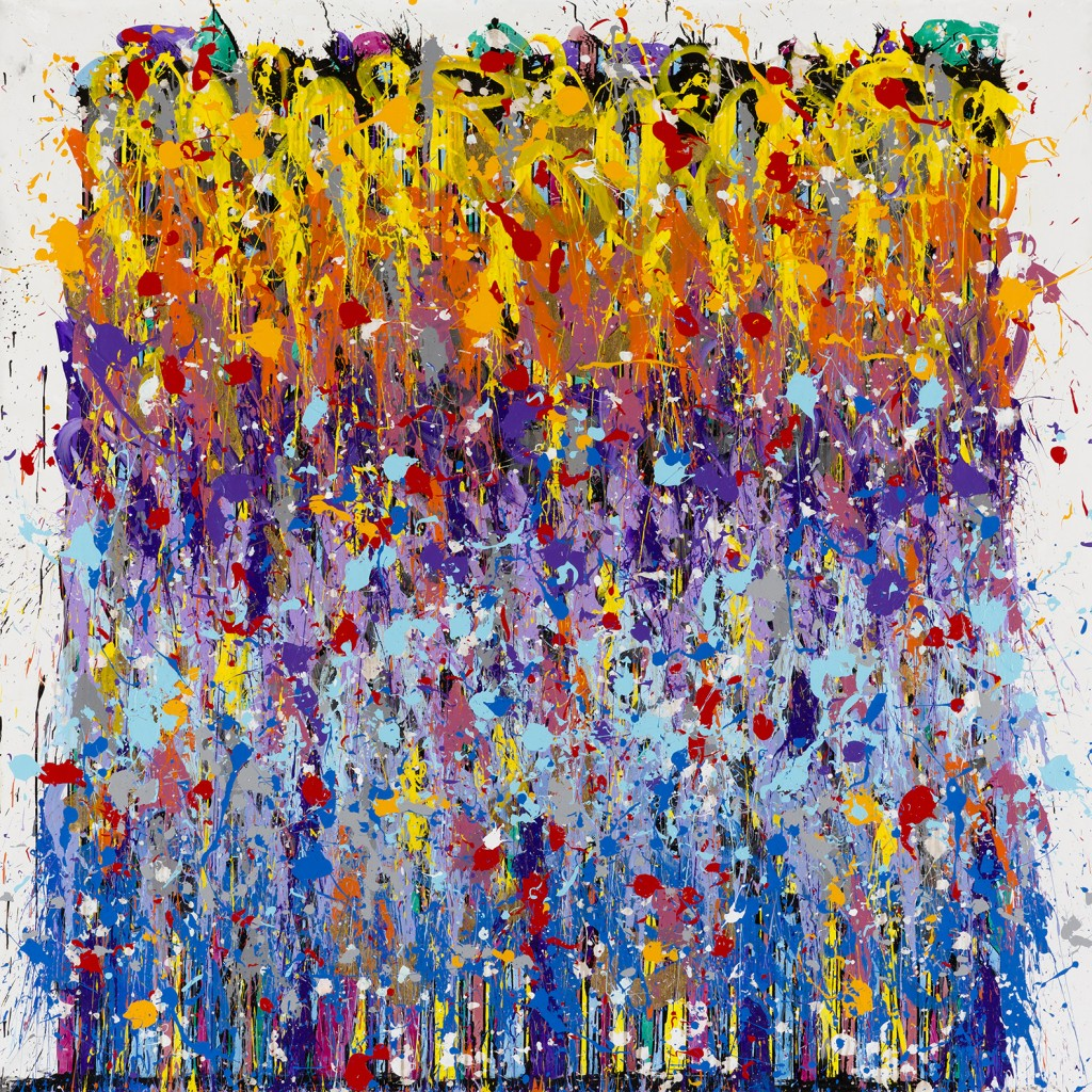 One Very Important Thought - JonOne painting - 2015