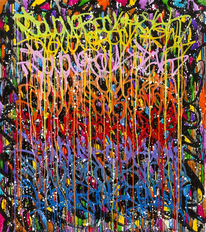 Read Write Draw - JonOne painting - 2015