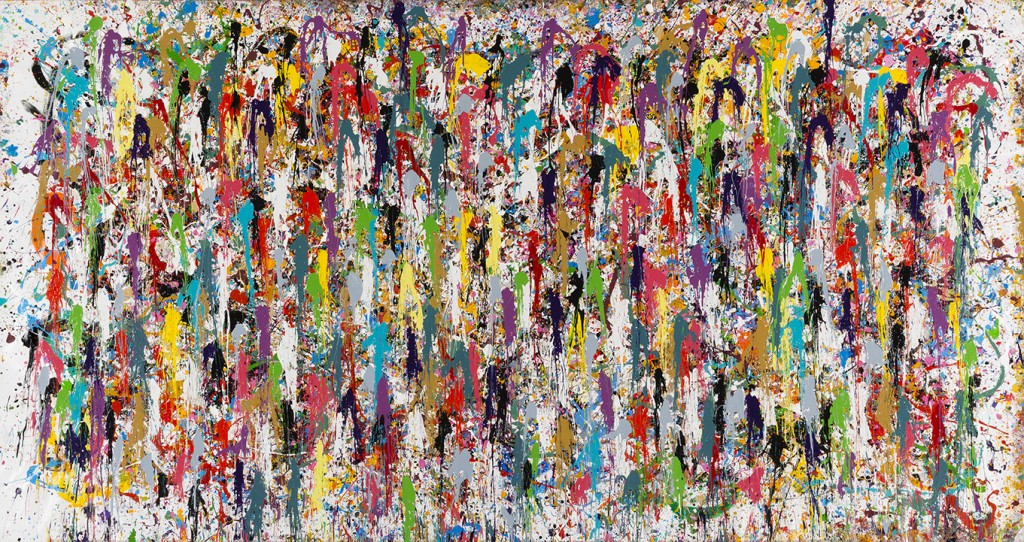 Sound And Color - JonOne painting - 2015