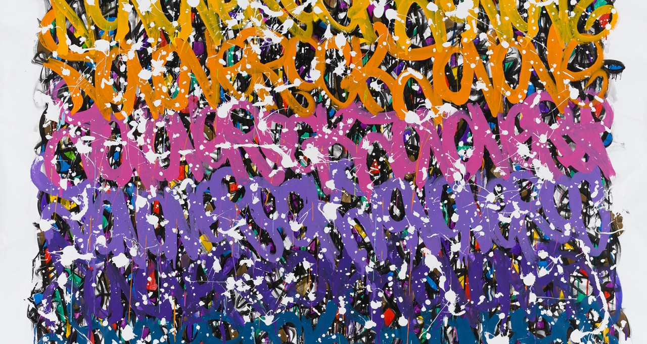 Stay Ready - JonOne painting - 2015