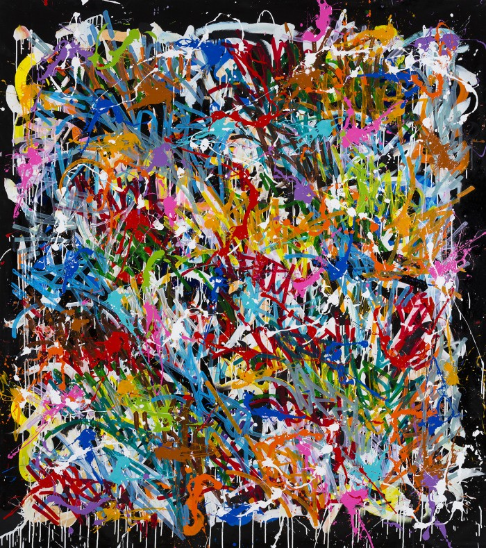 The Deep - JonOne painting - 2015