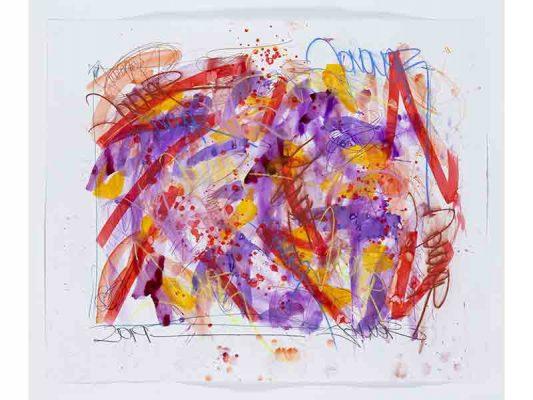2019-Exodus-And-Transformation,-encre-et-crayon-gras-sur-papier,-103-x-125,5-cm_JonOne_2019_Repro_130