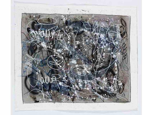 2019-Habits,-encre-et-crayon-gras-sur-papier,-106-x-122-cm_JonOne_2019_Repro_133