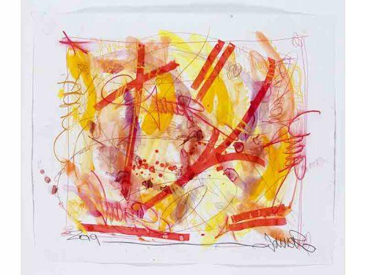 2019-Hyena,-encre-et-crayon-gras-sur-papier,-100,5-x-121,5-cm_JonOne_2019_Repro_125