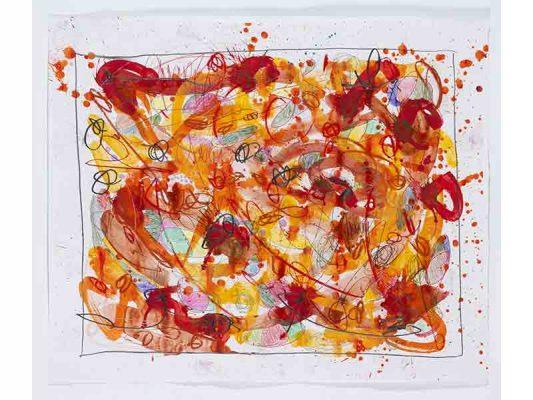 2019-Ma-Fleur,-encre-et-crayon-gras-sur-papier,-103-x-124-cm_JonOne_2019_Repro_123