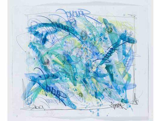 2019-Midnight,-encre-et-crayon-gras-sur-papier,-101-x-124,5-cm_JonOne_2019_Repro_128
