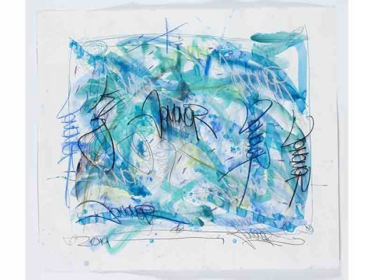2019-Psalms,-encre-et-crayon-gras-sur-papier,-108-x-124,5-cm_JonOne_2019_Repro_129