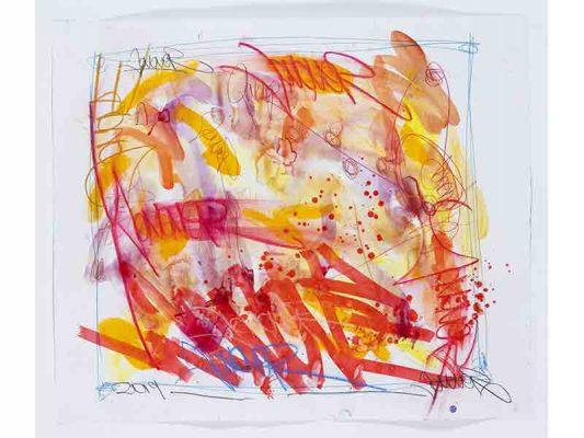 2019-Sunlight,-encre-et-crayon-gras-sur-papier,-105,5-x-119,5-cm_JonOne_2019_Repro_126