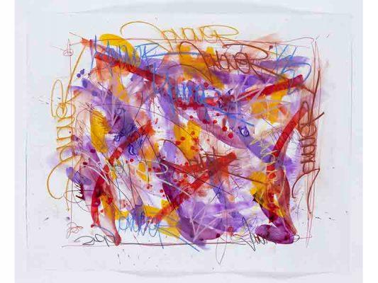 2019-Trees-Of-Codes,-encre-et-crayon-gras-sur-papier,-99-x-124,5-cm_JonOne_2019_Repro_131
